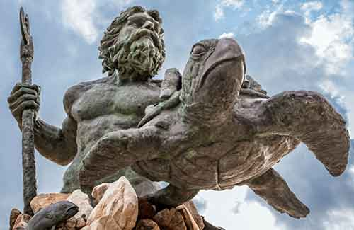 Proudly Welcoming Local Residents And Visitors Alike A 34 Foot Cast Bronze Neptune Statue Stands At The Gateway To Park Threshold Of