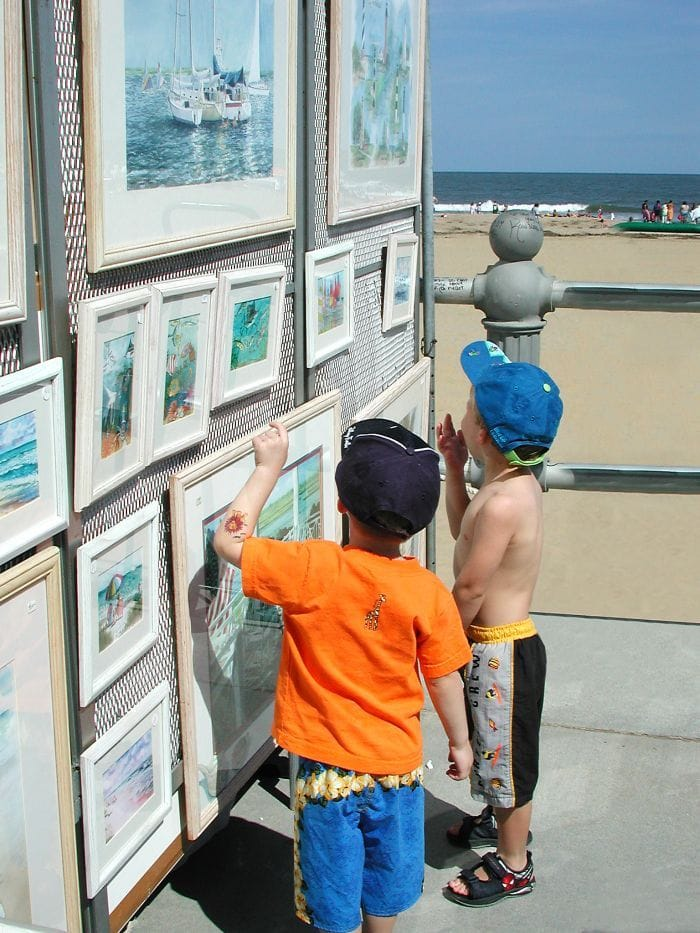 Virginia Beach Boardwalk Art Show Hours